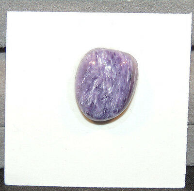 Charoite Free Form Cabochon 16.5x13.5mm with 6mm dome from Russia (11507)