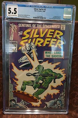 Silver Surfer #2 CGC 5.5