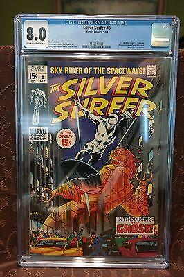 Silver Surfer #8 CGC 8.0