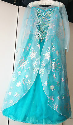 Disney Frozen Elsa Dress with Asseccories, Size 9-10 yars,100% Genuine