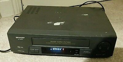 Sharp Vc-M303 Video Recorder/player - Tested & Works