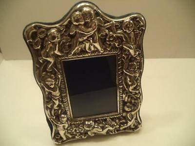 Antique/Vintage R C Sheffield England Ornate Silver Plate Picture Frame
