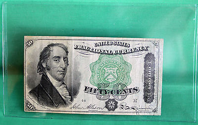 United States Fractional Currency Fifty Cents 50c Shinplaster You Grade FR#1379