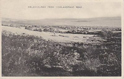 View From Highlandmans Road, HELENSBURGH, Dunbartonshire