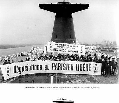 ss France FINAL DAYS French Line CGT 1974 OceanLiner Norway Picture History Book