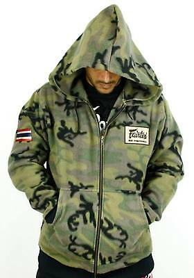 FAIRTEX SWEATSHIRT/HOODIE-FHS15-CAMOUFLAGE-100%-ALL SPORTS and CASUAL WEAR