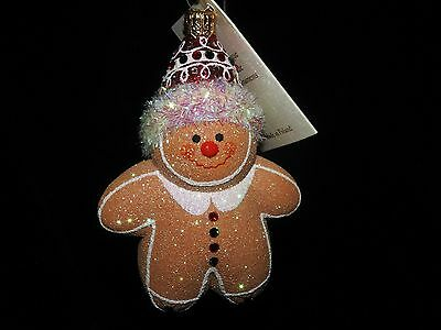 Patricia Breen Jeweled Henry The Gingerbread Boy