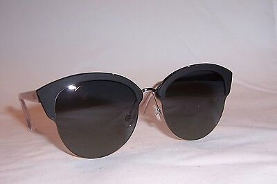 3578bccd653 NEW CHRISTIAN DIOR Graphic s 389-5S Black gray Sunglasses Authentic ...