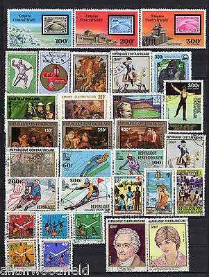 Nice Selection Of Central Africa    Used  (1609082)