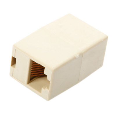 Hot RJ45 Cat5 Cat5e Cat6 Network Joiner Plug Coupler Ethernet Connector Adapter
