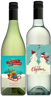 Say it with Wine Mixed Christmas White Wine 2 pack