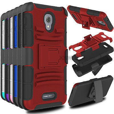 Phone Aromr Hard Case With Blet Clip Cover For Alcatel One touch Fierce 4/Allura