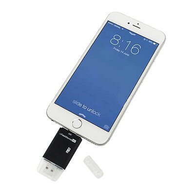 iFlash Drive USB OTG MicroSD Card Reader For iPhone 6/6S/7/7 Plus Ipad Mini/Air