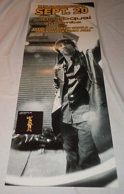 JAMIROQUAI~Dymamite~Promo Poster Flat~Double Sided~12x33.5~NM Condition~2005