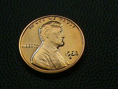 UNITED STATES   1 cent   1982  -  S    PROOF