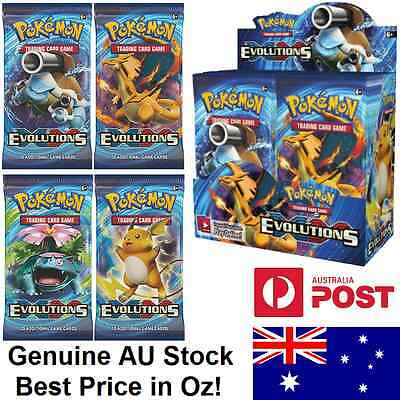 Pokemon XY Evolutions Booster Box/Display - Factory Sealed - FREE SHIPPING