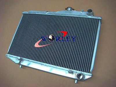Aluminum Radiator For 1983-1987 84 85 86 Toyota Corolla Ae86 Mt 1.6L I4