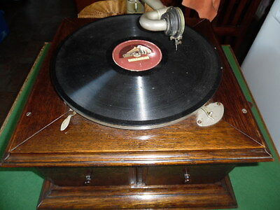His Masters Voice Table Top Grampphone