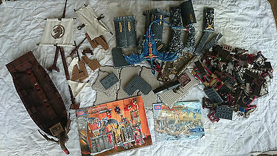Mega Bloks pirate ship and Castle pieces from 9895 9813 - Pickup 3199 Frankston