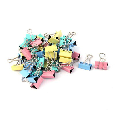 School Office Metal Test Paper File Ticket Organizer Binder Clips 46 Pcs