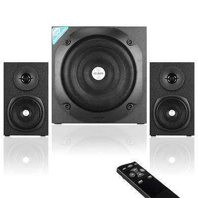 SELNON Multimedia 2.1 Bluetooth Home / Computer Speaker System with Subwoofer