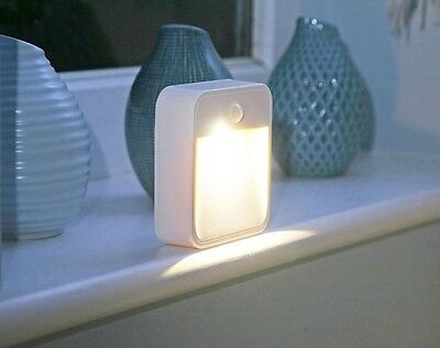 Wireless Led Battery Operated Night Light Childrens Bedroom Wall Self Adhesive