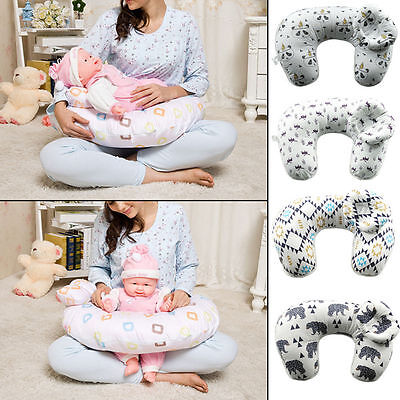 Breast Feeding Pillow Maternity Pregnancy Nursing Baby Support Cotton Cover Hot