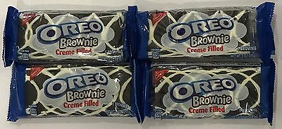 903416 4 x 85g PACKETS OF OREO BROWNIES - VANILLA CREME FILLING - USA