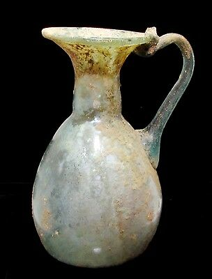 Roman Glass Ancient Jug G255