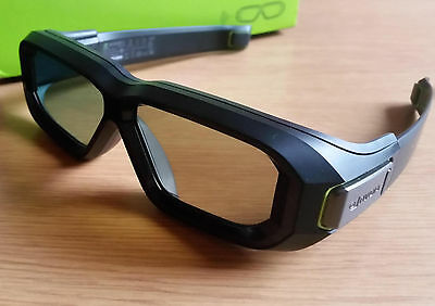 Nvidia 3D Vision 2 Wireless Active Shutter Glasses Excellent Condition