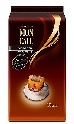 MonCafe Grand Noir 7.5g × 10 cups FROM JAPAN