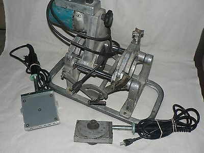 CENTRAL BS-4 PIPE BUTT FUSION MACHINE McElroy HDPE POLY WELDER & HEATING TOOLS