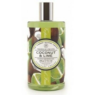 The Somerset Toiletry Company - Coconut & Lime, Bath & Shower Gel 500 ml