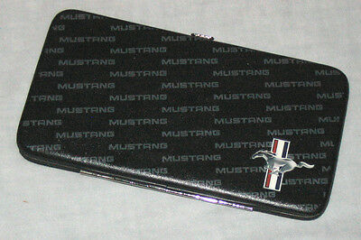 Ford Mustang logo hinged wallet - great christmas gift for him or her!
