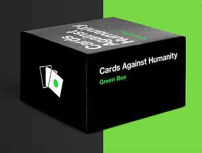 Cards Against Humanity - Green Box Expansion Edition - 300 Brand New Game Cards