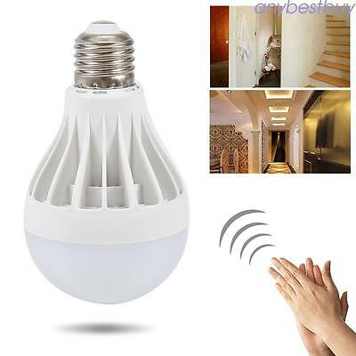 Light Sensor Auto Control Smart LED Bulb Bright Home Bedroom Lights Warm White