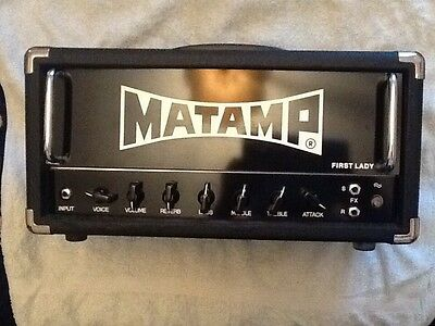 matamp first lady guitar amplifier head boutique made in uk stoner rock