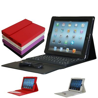 Bluetooth Keyboard Leather Case for Apple iPad Air,Air 2, Pro 9.7,iPad 2017