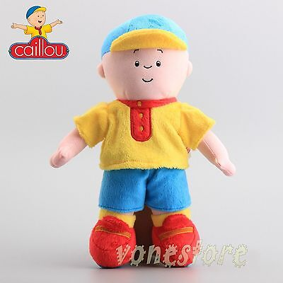 """12"""" Caillou Rosie Plush Toy Kids Stuffed Cartoon Figure Doll Toy Cute"""