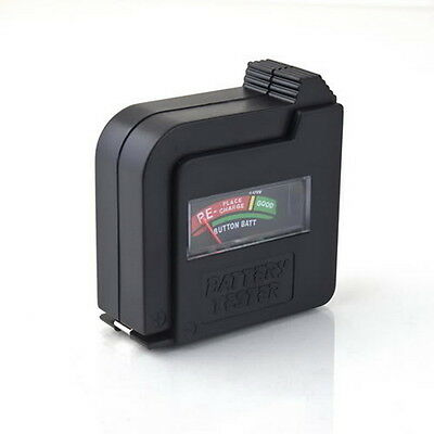 AA AAA C 9V 1.5V Universal Button Cell Battery Volt Tester Checker Indicator SE