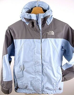 Girls THE NORTH FACE WATERPROOF Blue JACKET Size SMALL (969)