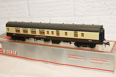 O gauge EXCELLENT Lima mk 1 Coach Great Western Brown Cream 5103 Brake BOXED