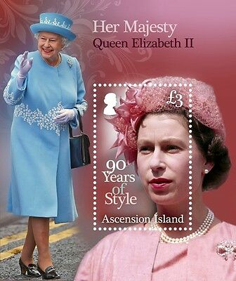 Ascension Queen Bl. Elizabeth II 90 Years of Style  2016 **