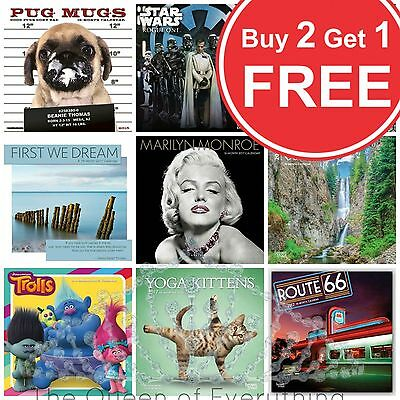 """7""""x7"""" 2017 Calendars 12 Month 16 Month 18 Month 20 Styles-U Choose FAST US SHIP"""