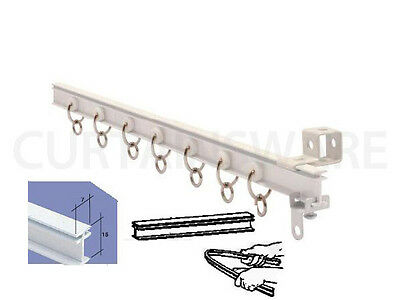 CURTAIN RAIL FOR BAY OR STRAIGHT WINDOW 3.50 m (138'') CURTAIN TRACK