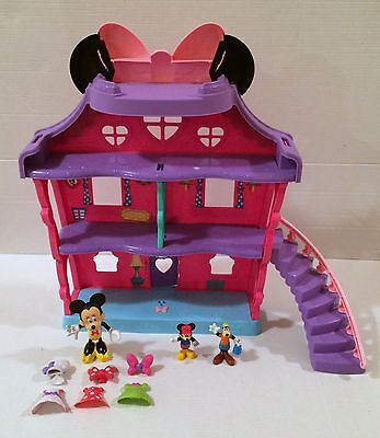Fisher-Price Minnie Mouse - Minnie's Bow Sweet Home House Sounds Mickey Goofy