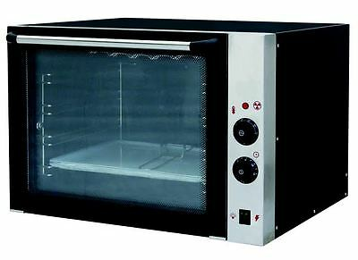 Electric Commercial Convection Oven Baking Stainless Steel with 4 Baking Trays