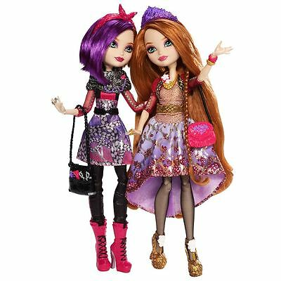 Ever After High Royal & Rebel Holly & Poppy O'Hair Sisters Twin Pack Dolls *HOT*