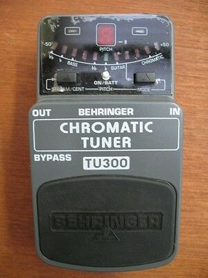 Behringer Chromatic Tuner Foot Pedal
