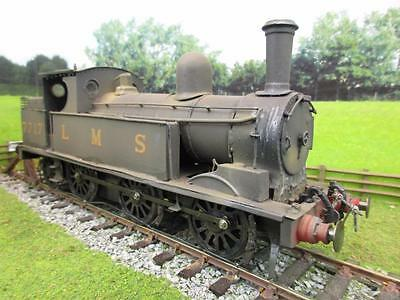 7mm FINESCALE O GAUGE KIT BUILT LMS WEBB COAL TANK / 2F CLASS 0-6-2T '7717'
